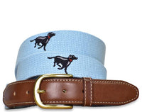 Labrador Retriever Embroidered Belt