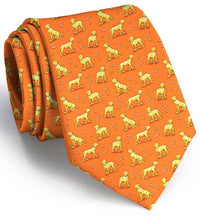 Labrador Retriever Lucky Lab Tie