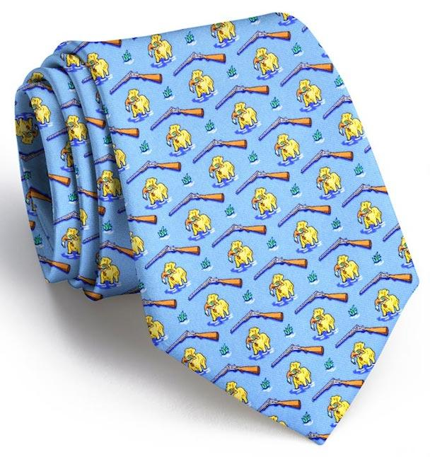 Golden Retriever Gun Dog Glory Tie