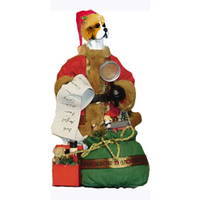 Beagle Toy List Santa Statue