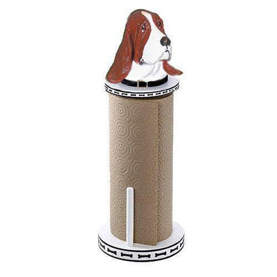 Basset Hound Paper Towel Holder