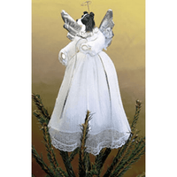 Border Collie Treetop Angel