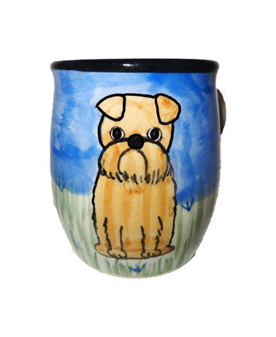 Brussels Griffon Hand-Painted Ceramic Mug