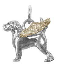 Beagle Angel Charm