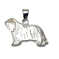 Bearded Collie Pendant