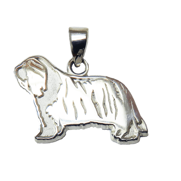 Bearded Collie Charm Jewelry