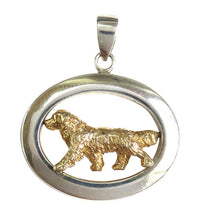 Bernese Mountain Dog Sterling & 14k Gold Jewelry