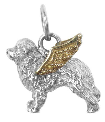 Bernese Mountain Dog Angel Charm