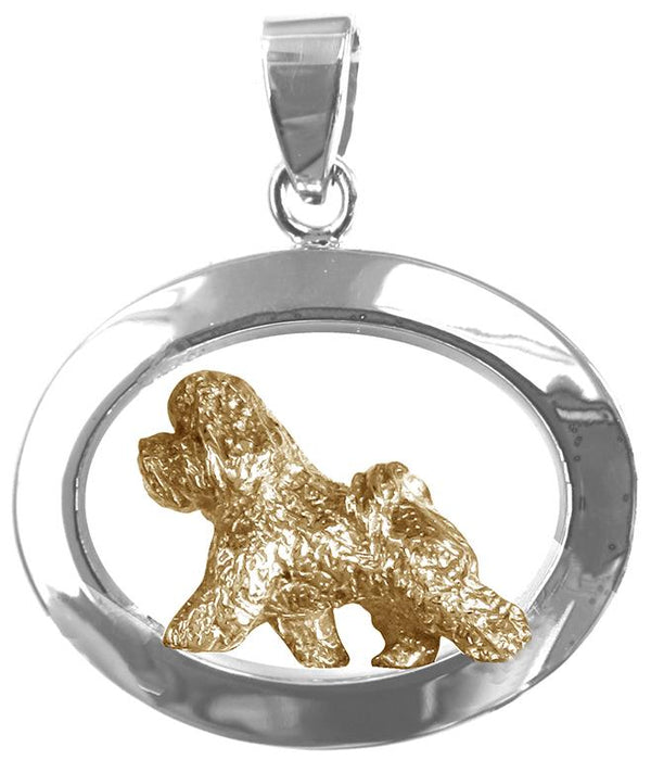 Bichon Frise Sterling & 14k Gold Jewelry