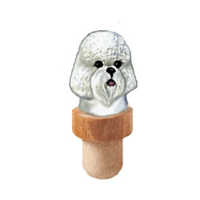 Bichon Frise Head Cork
