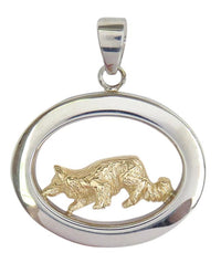 Border Collie Sterling & 14k Gold Jewelry