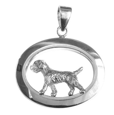 Border Terrier Oval Jewelry