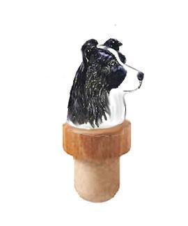 Border Collie Head Cork
