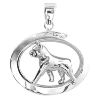 Boston Terrier Oval Jewelry