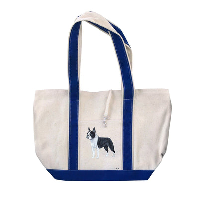 Hand-Painted Dog Breed Tote Bag - Non-Sporting Group