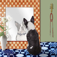 Boston Terrier Memory Box