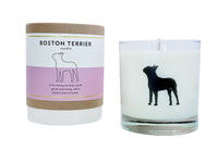 Boston Terrier Candle
