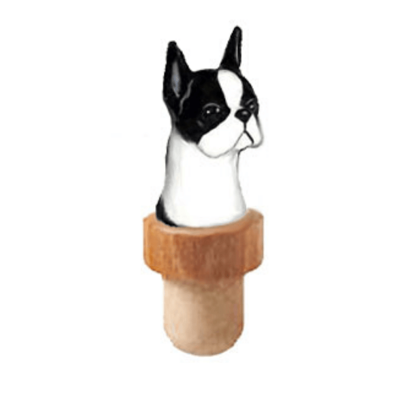 Boston Terrier Head Cork
