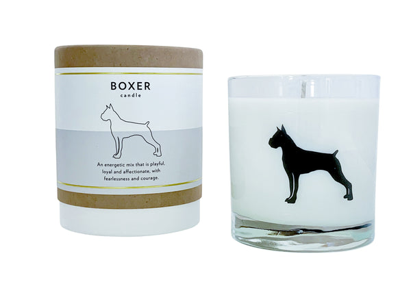 Boxer Candle