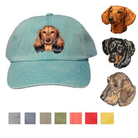 Dachshund Embroidered Baseball Caps