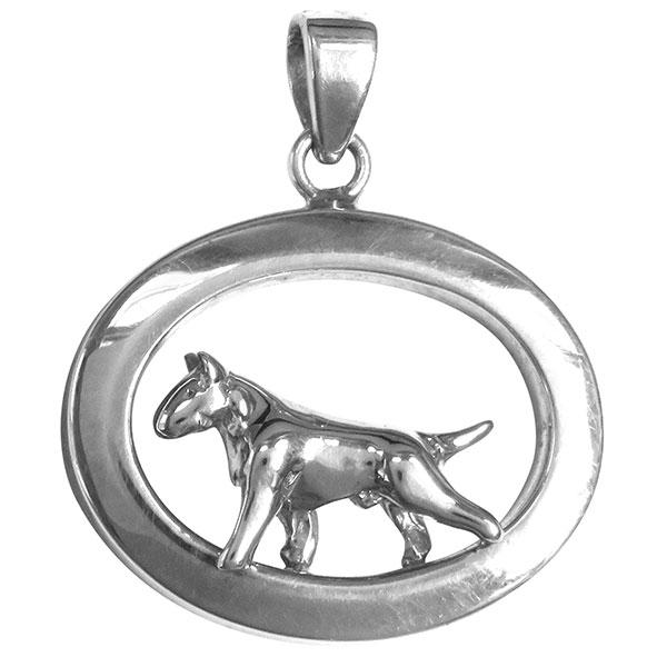 Bull Terrier Oval Jewelry