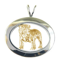 Bulldog Sterling & 14k Gold Jewelry