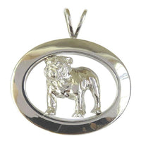 Bulldog Oval Jewelry