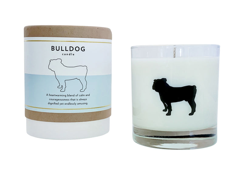 Bulldog Candle