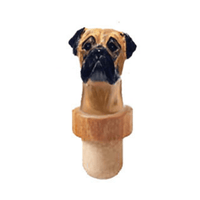 Bullmastiff Head Cork Bottle Cork