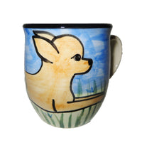 Chihuahua Hand-Painted Ceramic Mug