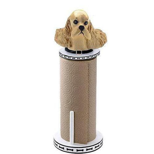 Cocker Spaniel Paper Towel Holder