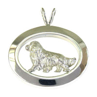 Cavalier King Charles Spaniel Oval Jewelry