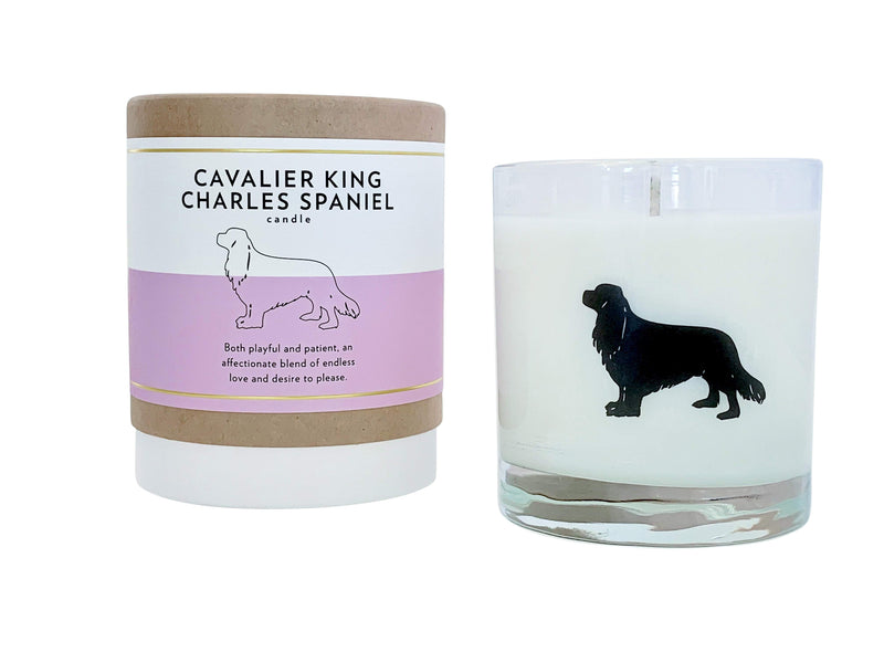 Cavalier King Charles Spaniel Candle