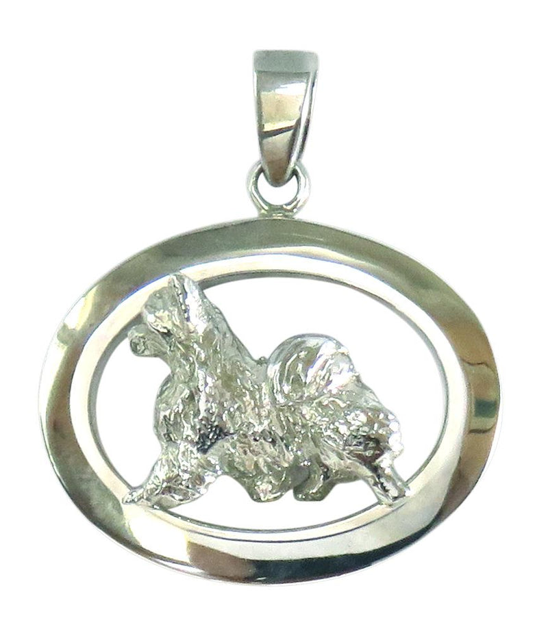 Chihuahua Longhaired Oval Jewelry