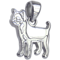 Smooth Chihuahua Charm Jewelry