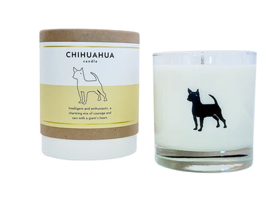 Chihuahua Candle