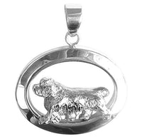 Clumber Spaniel Oval Jewelry