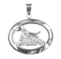 Cocker Spaniel Oval Jewelry