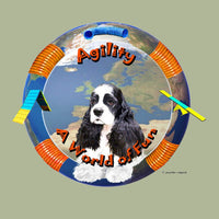 Cocker Spaniel Agility Memory Box
