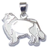 Rough Collie Charm Jewelry