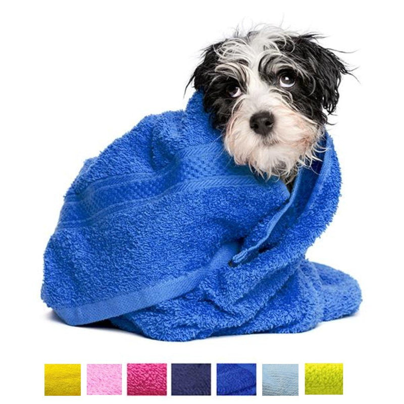 Personalized Dog Bath Towel