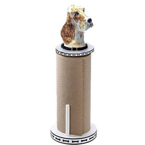 English Setter Paper Towel Holder