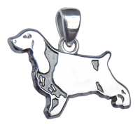 English Cocker Spaniel Charm Jewelry