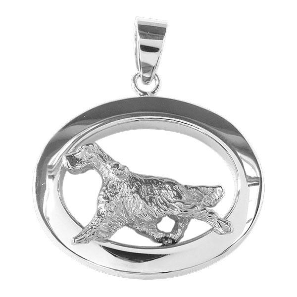 English Setter Oval Jewelry