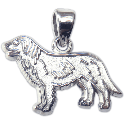 Flat Coated Retriever Charm Jewelry
