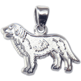 Flat Coated Retriever Pendant