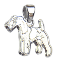 Wire Fox Terrier Charm Jewelry