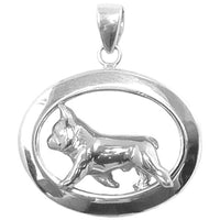 French Bulldog Oval Jewelry