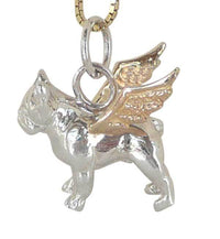 French Bulldog Angel Charm