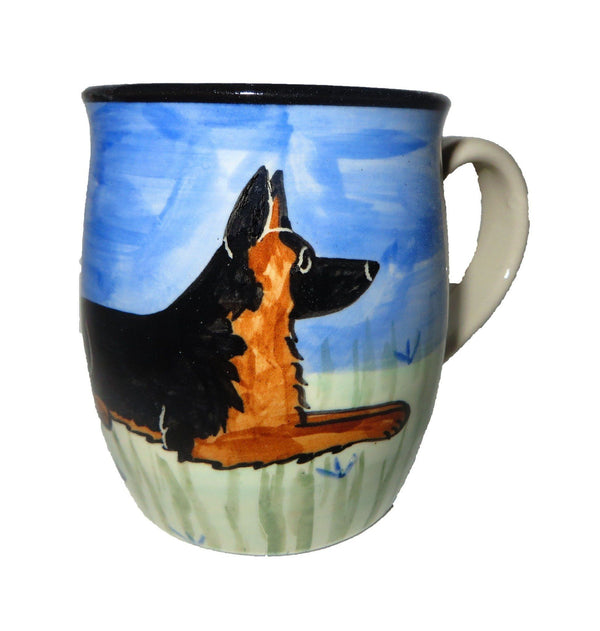 German Shepherd Ceramic Mug
